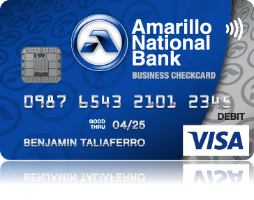 Business Debit Card Small Version
