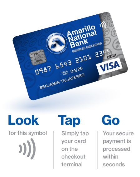 Contactless Cards - Look Tap Go